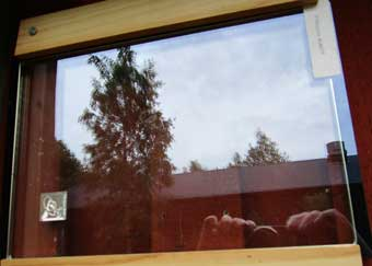 self-cleaning window